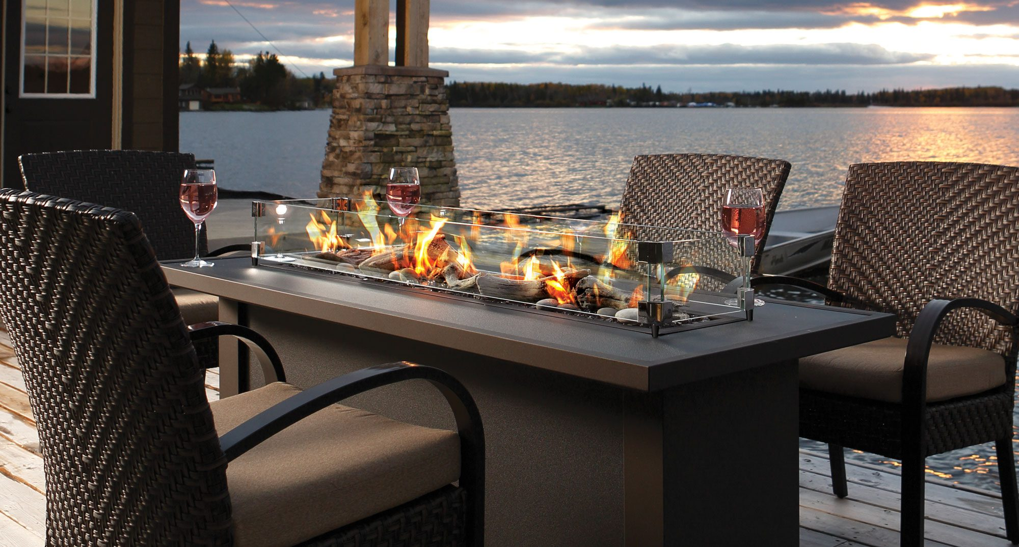 Calgary Amp Red Deer S Top Outdoor Fireplaces And Tempest