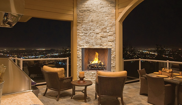 Pleasing Calgary Red Deers Top Outdoor Fireplaces And Tempest Home Interior And Landscaping Ologienasavecom